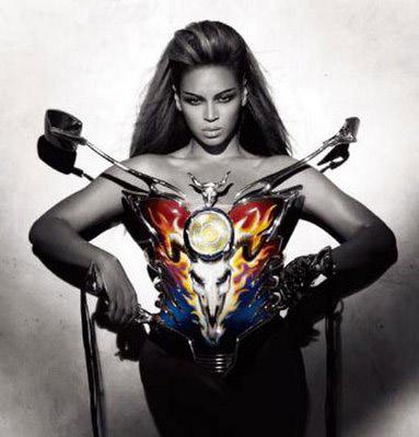 Beyonce Thierry Biker Corset