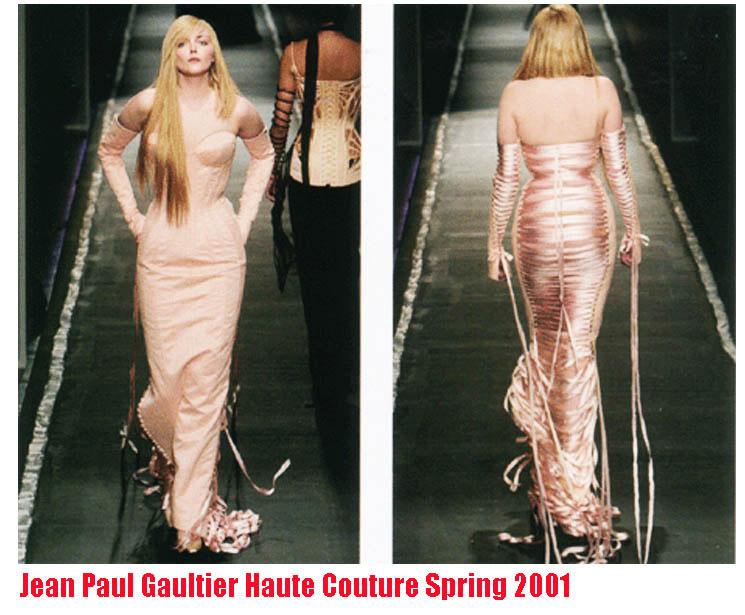 Sophie Dahl Gaultier dress by mr pearl